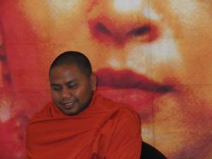 u htavara prominent saffron revolution leader