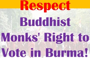 Respect Buddhist Monks