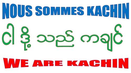 We are Kachin Myanmar.